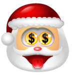 Santa Claus Money 150x150