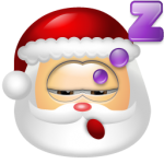 Santa Claus Sleep 150x150