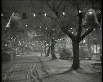 Bedford Falls, New York as shown in 'It's a Wonderful Life'